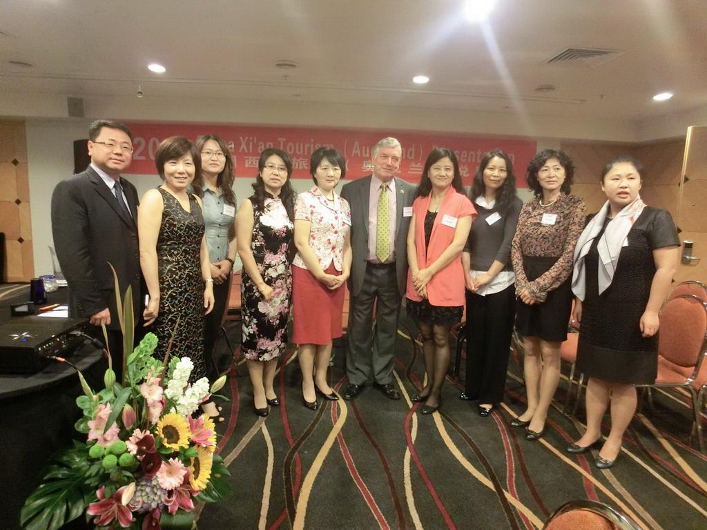 2013年西安市旅游局:中国西安旅游说明会